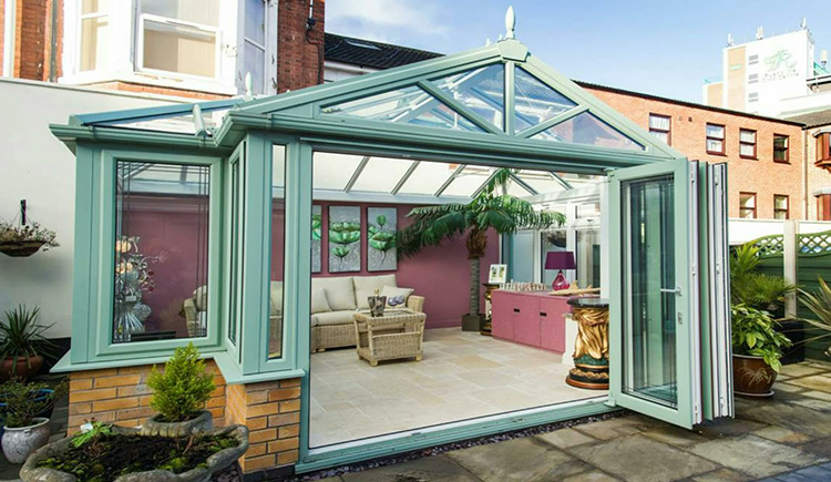 Hardwood and PVCU conservatories and orangeries